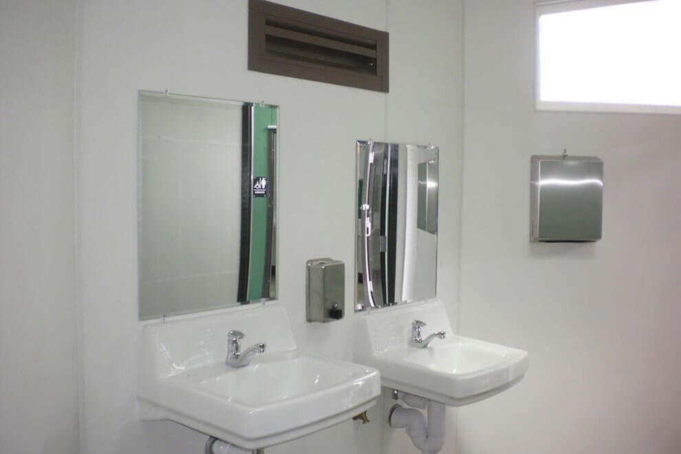 Multi-Stall Sinks