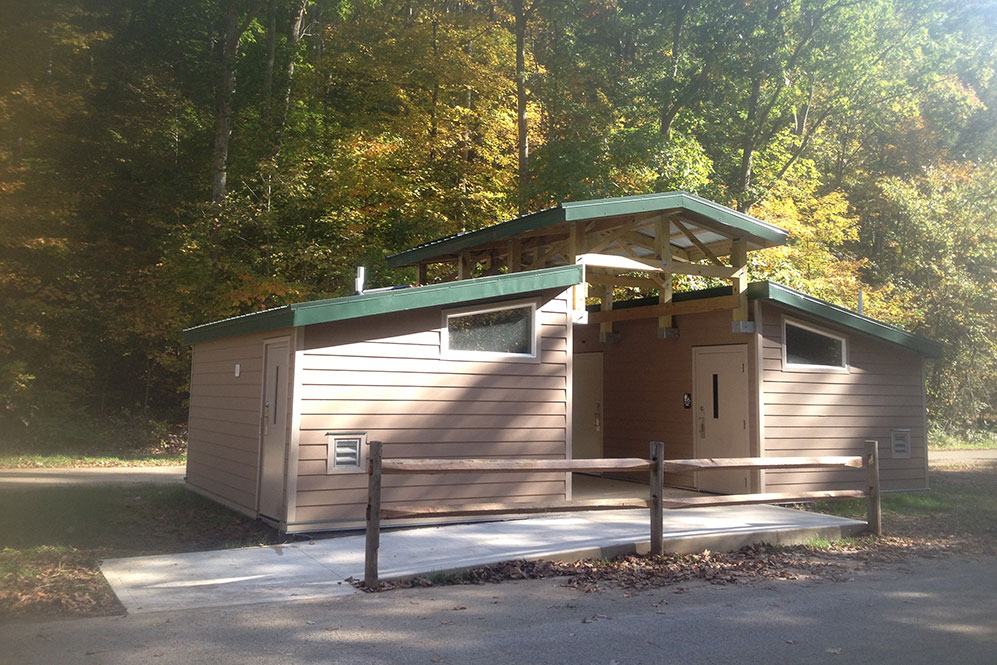 Pavilion at Mohican State Park